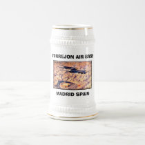TORREJON AIR BASE, MADRID SPAIN - Customized Beer Stein