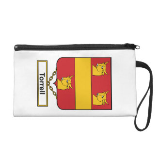 Torrell Family Crest Wristlet Clutches