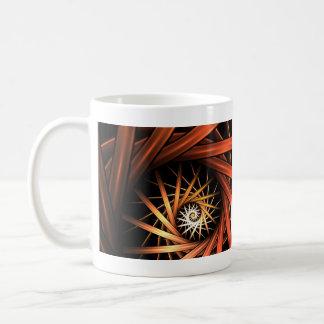 Torrent Fractal Classic White Coffee Mug