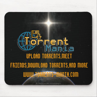 Torrent Mania mouse pad limited edition