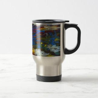 Torrent of the Seasons 15 Oz Stainless Steel Travel Mug