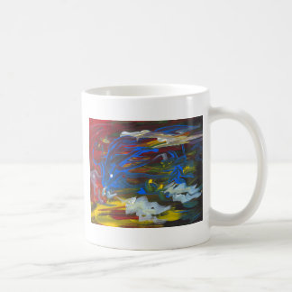 Torrent of the Seasons Classic White Coffee Mug