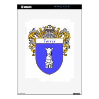 Torres Coat of Arms/Family Crest Skins For iPad 2