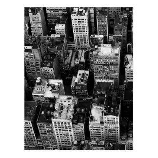 Torres de agua de NYC Tarjeta Postal