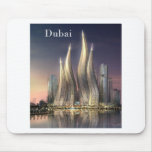 torres de Dubai (por St.K) Mouse Pad