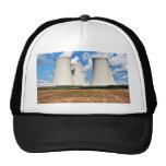 Torres de enfriamiento de una central nuclear gorros bordados