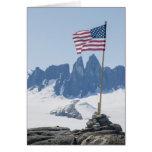Torres de Juneau Icefield Taku (espacio en blanco  Felicitacion