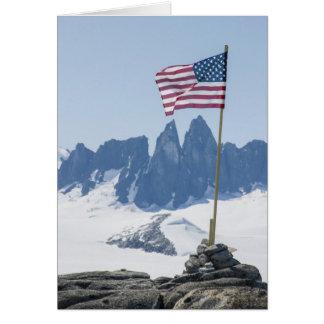 Torres de Juneau Icefield Taku (espacio en blanco Tarjeta De Felicitación