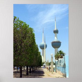Torres de Kuwait Poster