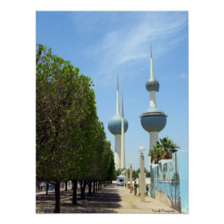 Torres de Kuwait Póster