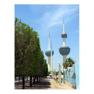 Torres de Kuwait - símbolo de Kuwait Postal