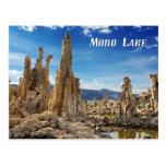 Torres de la toba volcánica, mono lago, California Postal