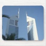 Torres de los emiratos alfombrillas de ratón