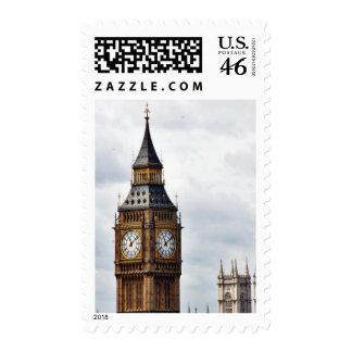Torres de reloj de Big Ben Londres y abadía de Wes