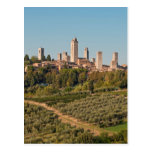 Torres de San Gimignano, Toscana, Italia Postales