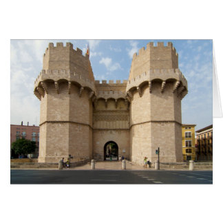 Torres de Serranos Card