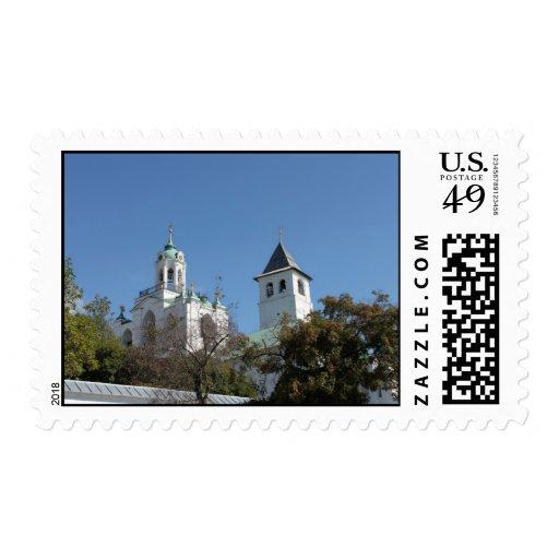 Torres de Yaroslavl antiguo Estampillas