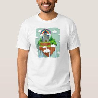 Torres del castillo en la isla camisas