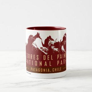 Torres del Paine-Mug Two-Tone Coffee Mug
