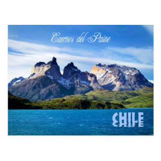 Torres del Paine National Park, Chile Postcard