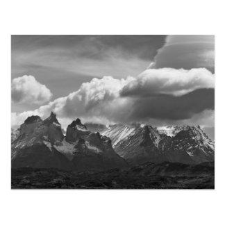 Torres Del Paine National Park,  Cuernos and Postcard