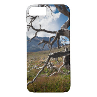 Torres del Paine National Park, fire damaged trees iPhone 7 Case