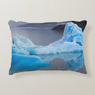 Torres del Paine National Park, Glacial ice Accent Pillow