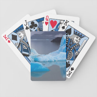 Torres del Paine National Park, Glacial ice Bicycle Playing Cards