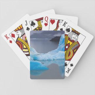 Torres del Paine National Park, Glacial ice Poker Deck