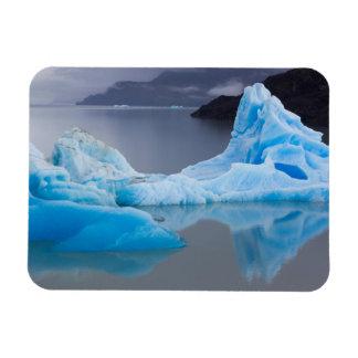 Torres del Paine National Park, Glacial ice Rectangular Photo Magnet