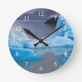 Torres del Paine National Park, Glacial ice Round Clock