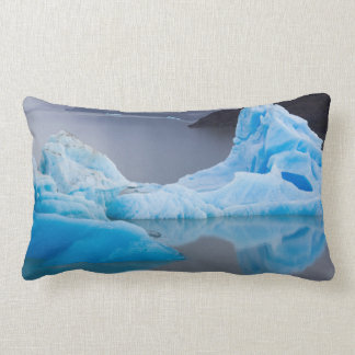 Torres del Paine National Park, Glacial ice Throw Pillow