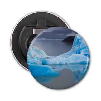 Torres del Paine National Park, Glacial ice Button Bottle Opener