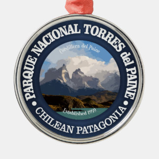 Torres del Paine National Park Metal Ornament