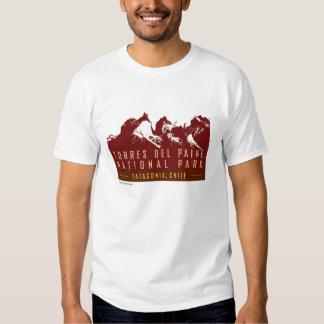 Torres del Paine-T-camisa Remera