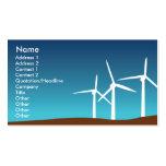 Torres del viento - negocio plantilla de tarjeta de visita
