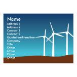Torres del viento - rechonchas plantilla de tarjeta personal