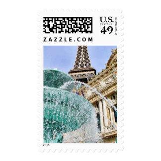 Torres Eiffel de las fuentes Sellos