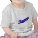 Torres en azul camiseta