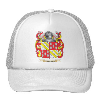 Torres Family Crest (Coat of Arms) Mesh Hats