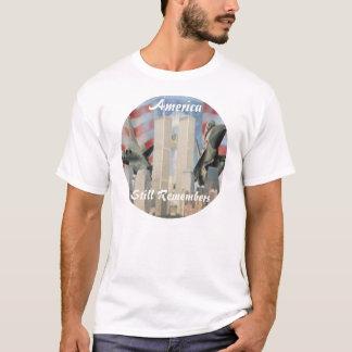 Torres gemelas 9/11 camisa de la conmemoración