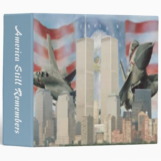 Torres gemelas 9/11 carpeta de la conmemoración