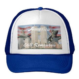 Torres gemelas 9/11 gorra de la conmemoración