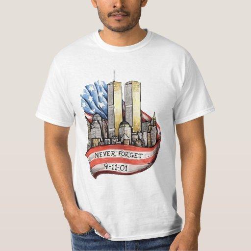 Torres gemelas 9/11 polera