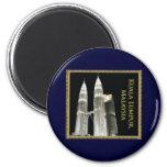 Torres gemelas de Petronas Imán Para Frigorífico