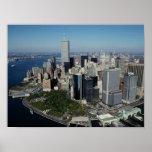 Torres gemelas del ~ del World Trade Center del PO