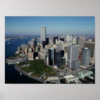 Torres gemelas del ~ del World Trade Center del Póster