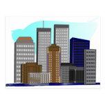 Torres gemelas Nueva York---Regalos únicos del art Tarjetas Postales