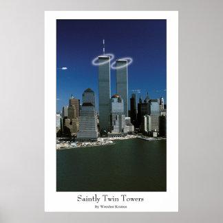 Torres gemelas santas posters