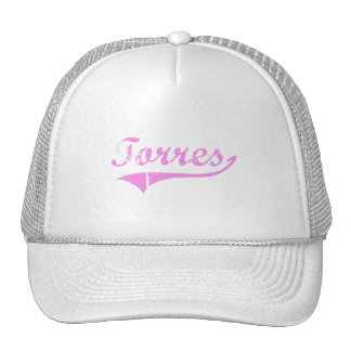 Torres Last Name Classic Style Mesh Hat